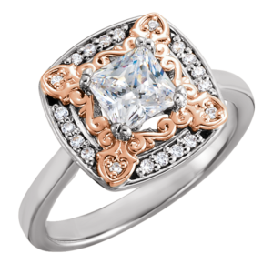 2018-millennial-engagement-trends-rose-gold-two-tone-diamond-ring-300x290